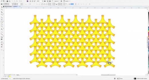 Простые геометрические рисунки в CorelDRAW Graphics Suite 2017