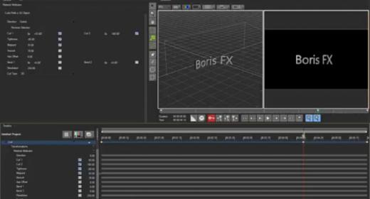 Boris Title Studio в Corel VideoStudio x10