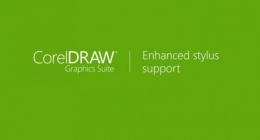 CorelDRAW Graphics Suite 2017 Улучшенная поддержка пера.