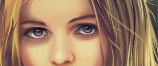 Tutorial Drawing a portrait in CorelDRAW (part 4)