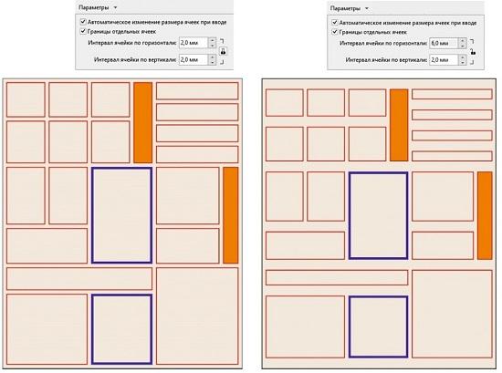 Таблицы в CorelDRAW