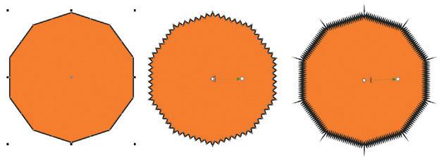 Деформация векторных объектов в CorelDRAW X7 (1 часть)
